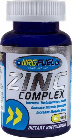 Image of NRGFuel Zinc Complex 90 Capsules