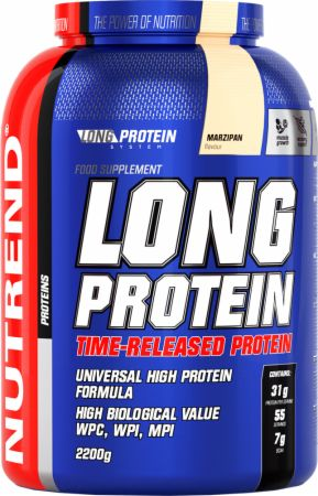 Image of Nutrend Long Protein 2200 Grams Marzipane