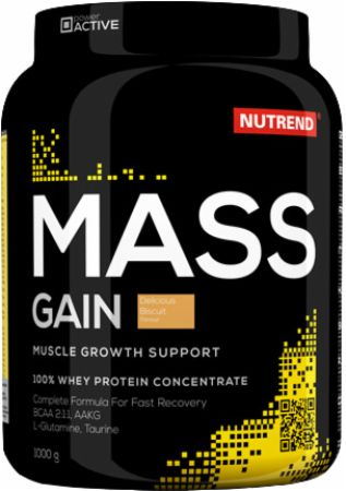 Image of Nutrend Mass Gain 1000 Grams Biscuit