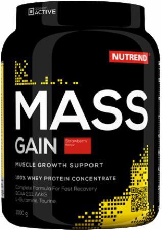 Image of Nutrend Mass Gain 1000 Grams Strawberry