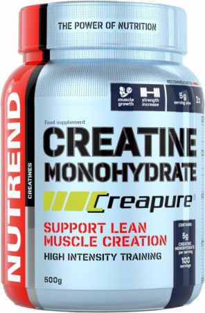 Image of Nutrend Creatine Monohydrate 300 Grams Unflavoured