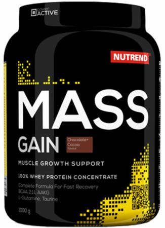 Image of Nutrend Mass Gain 1000 Grams Chocolate & Cocoa