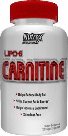 Image of Nutrex Lipo-6 Carnitine 120 Liquid Capsules