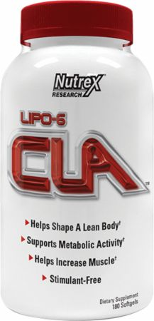 Image of Nutrex Lipo-6 CLA 180 Softgels