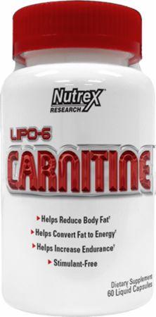 Image of Nutrex Lipo-6 Carnitine 60 Liquid Capsules