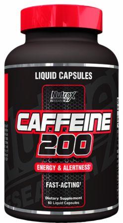 Image of Nutrex Caffeine 200 60 Liquid Capsules