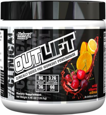 Nutrex Outlift Wild Cherry Citrus 5 Servings - Pre-Workout Supplements