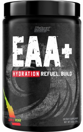 Image of EAA + Hydration Essential Amino Acids Apple Pear 30 Servings - Amino Acids & BCAAs Nutrex