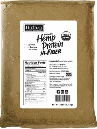 Organic Hemp Protein Hi-Fiber