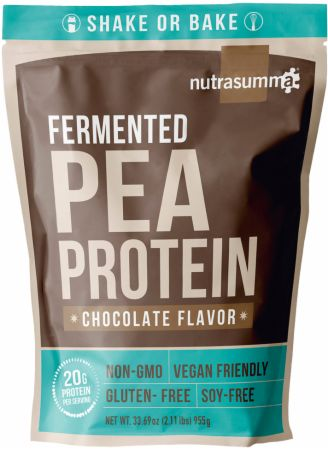 Image of Fermented Pea Protein Chocolate 2 Lbs. - Protein Powder Nutrasumma