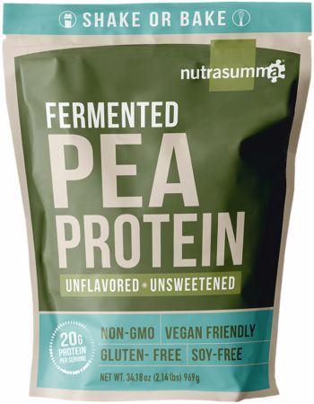 Image of Fermented Pea Protein Unflavored 2 Lbs. - Protein Powder Nutrasumma