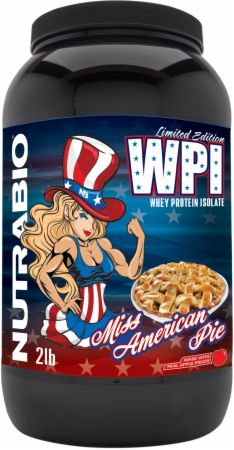 Image of 100% Whey Protein Isolate Miss American Pie 2 Lbs. - Protein Powder NutraBio