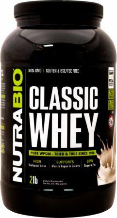 NutraBio Classic Whey Creamy Vanilla 2 Lbs. - Protein Powder