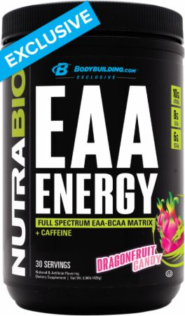 Image of EAA Energy Dragon Fruit Candy 30 Servings - Amino Acids & BCAAs NutraBio