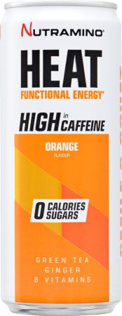 Image of Nutramino Heat 24 x 330 ml Cans Orange