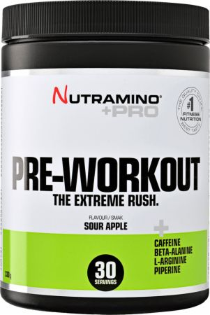 Image of Nutramino +Pro Pre-Workout 330 Grams Sour Apple