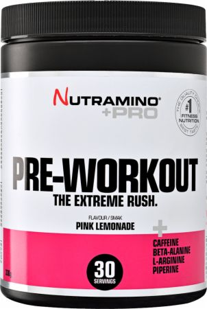 Image of Nutramino +Pro Pre-Workout 330 Grams Pink Lemonade