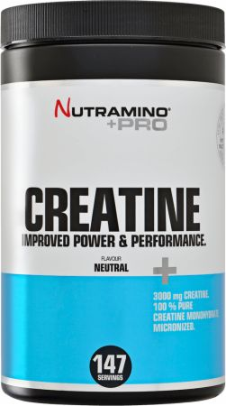 Image of Nutramino +Pro Creatine 500 Grams Unflavoured