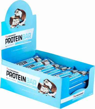 Image of Nutramino Protein Bar 20 x 49g Bars Sweet Coconut