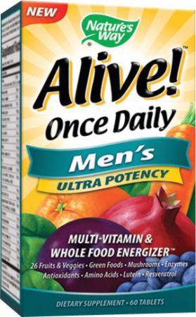 Nature's Way Alive! Once Daily Men's