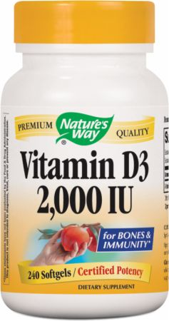 Nature's Way Vitamin D-3