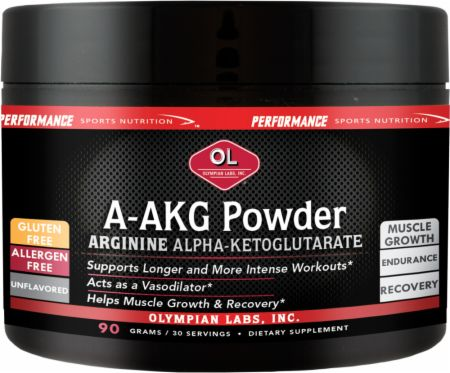 Image of Olympian Labs A-AKG Powder 90 Grams Unflavored