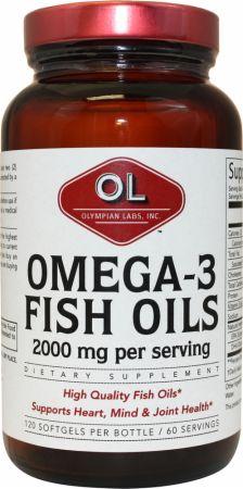 Olympian Labs Omega-3 Fish Oils の BODYBUILDING.com 日本語・商品カタログへ移動する