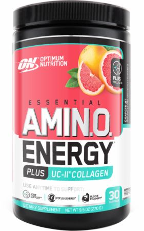 Image of Amino Energy + Collagen Grapefruit 30 Servings - Amino Acids & BCAAs Optimum Nutrition