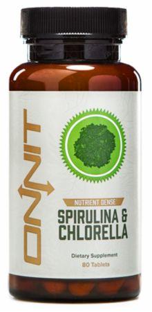 Image of Onnit Spirulina & Chlorella 80 Tablets