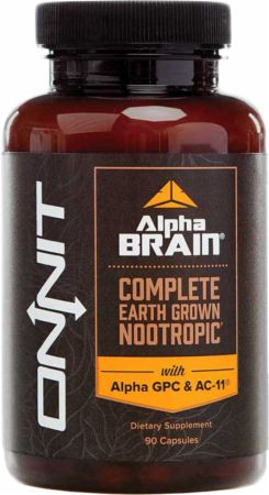Alpha Brain By Onnit At Bodybuilding Com Best Prices On Alpha Brain