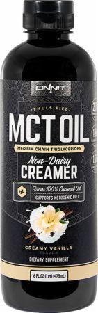 Image of Emulsified MCT Oil Creamy Vanilla 16 Fl. Oz. - Cardiovascular Health Onnit