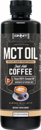 Image of Emulsified MCT Oil Almond Milk Latte 16 Fl. Oz. - Cardiovascular Health Onnit