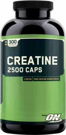 Optimum Nutrition Creatine 2500 Caps 300 Capsules - Creatine