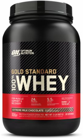 Optimum Nutrition Gold Standard 100% Whey Extreme Milk Chocolate 2 Lbs. - Protein Powder