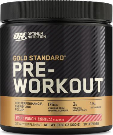 Optimum Nutrition Gold Standard Pre-Workout Fruit Punch 30 Servings - Pre-Workout Supplements