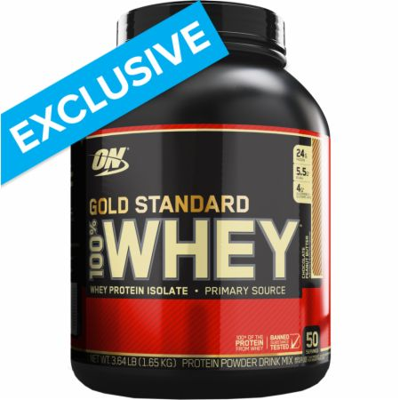 100% Gold Standard Whey Protein Powder