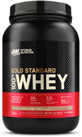 Optimum Nutrition Gold Standard 100% Whey Mocha Cappuccino 2 Lbs. - Protein Powder