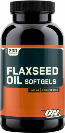 Optimum Flaxseed Oil Softgels
