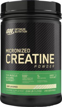 Optimum Nutrition Micronized Creatine Powder Unflavored 1200 Grams - Creatine