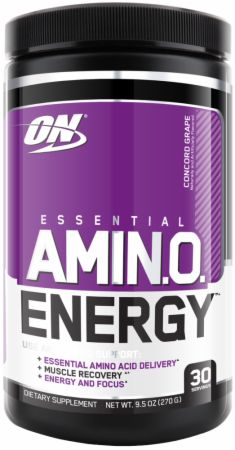 Image of Essential Amino Energy Concord Grape 30 Servings - Post-Workout Recovery Optimum Nutrition