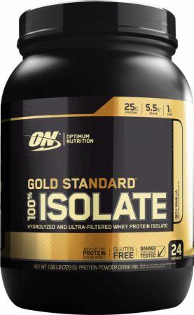 Gold Standard 100% Isolate Rich Vanilla 1.58 Lbs. - Protein Powder Optimum Nutrition
