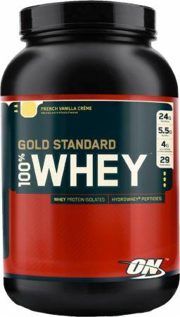 Image of Gold Standard 100% Whey Protein French Vanilla Creme 2.2 Kilograms - Protein Powder Optimum Nutrition