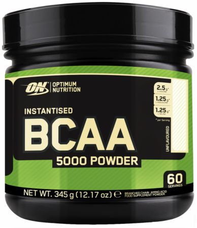 Image of BCAA 5000 Powder Unflavoured 60 Servings - Amino Acids & BCAAs Optimum Nutrition