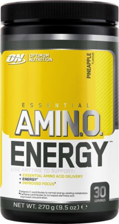 Image of Essential Amino Energy Pineapple 30 Servings - Post-Workout Recovery Optimum Nutrition