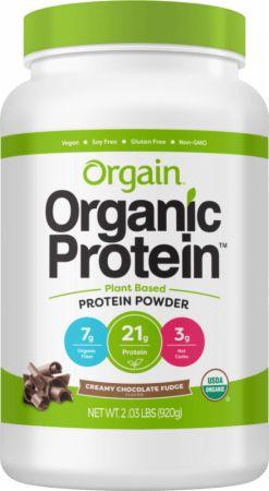 Image of Organic Plant Protein Powder Creamy Chocolate Fudge 2.03 Lbs. - Protein Powder Orgain