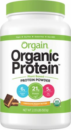 Image of Organic Plant Protein Powder Chocolate Peanut Butter 2.03 Lbs. - Protein Powder Orgain