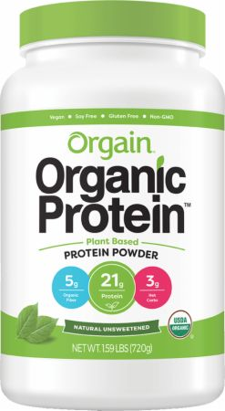 Image of Organic Plant Protein Powder Natural Unsweetened 1.59 Lbs. - Protein Powder Orgain