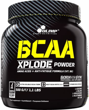 Image of Olimp Sport Nutrition BCAA Xplode Powder 500 Grams Pineapple