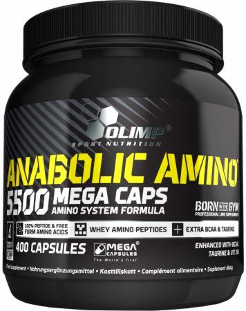 Image of Olimp Sport Nutrition Anabolic Amino 5500 400 Mega Capsules