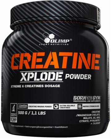 Image of Olimp Sport Nutrition Creatine Xplode Powder 500 Grams Orange